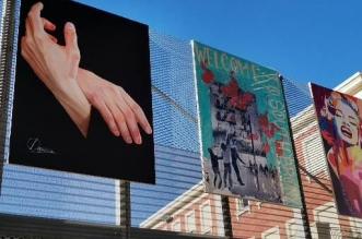 exposición al aire libre en León