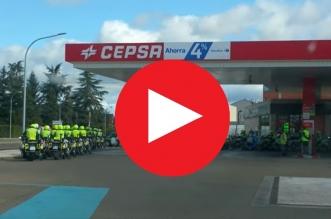 video guardia civil León
