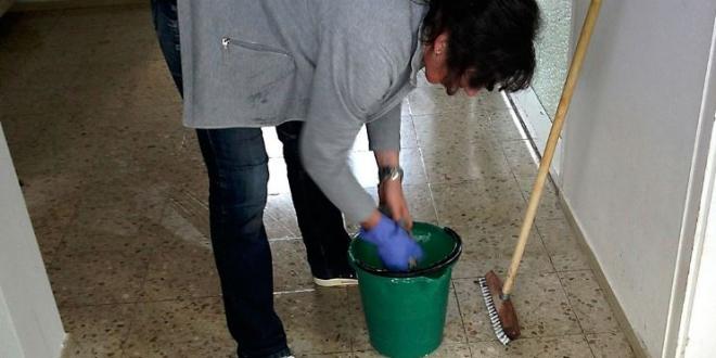 limpieza aulas
