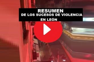 videos manifestaciones en León por el confinamiento