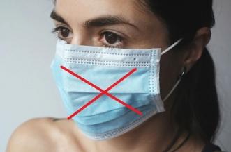 el peligro de las mascarillas quirúrgicas