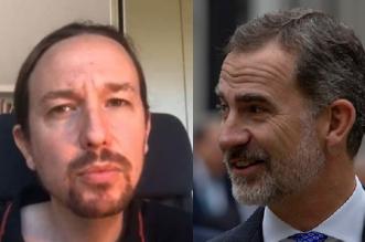 REy y Pablo Iglesias