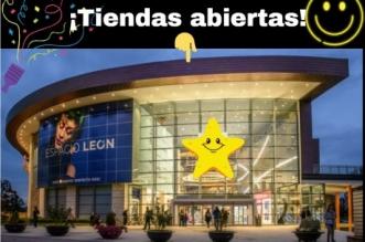 Tiendas abiertas en Espacio León