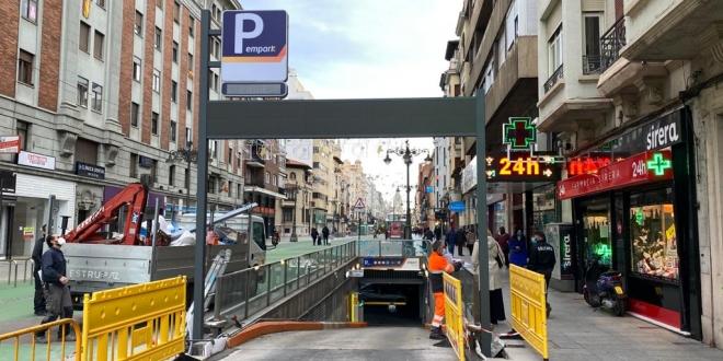 pintado de calles en León