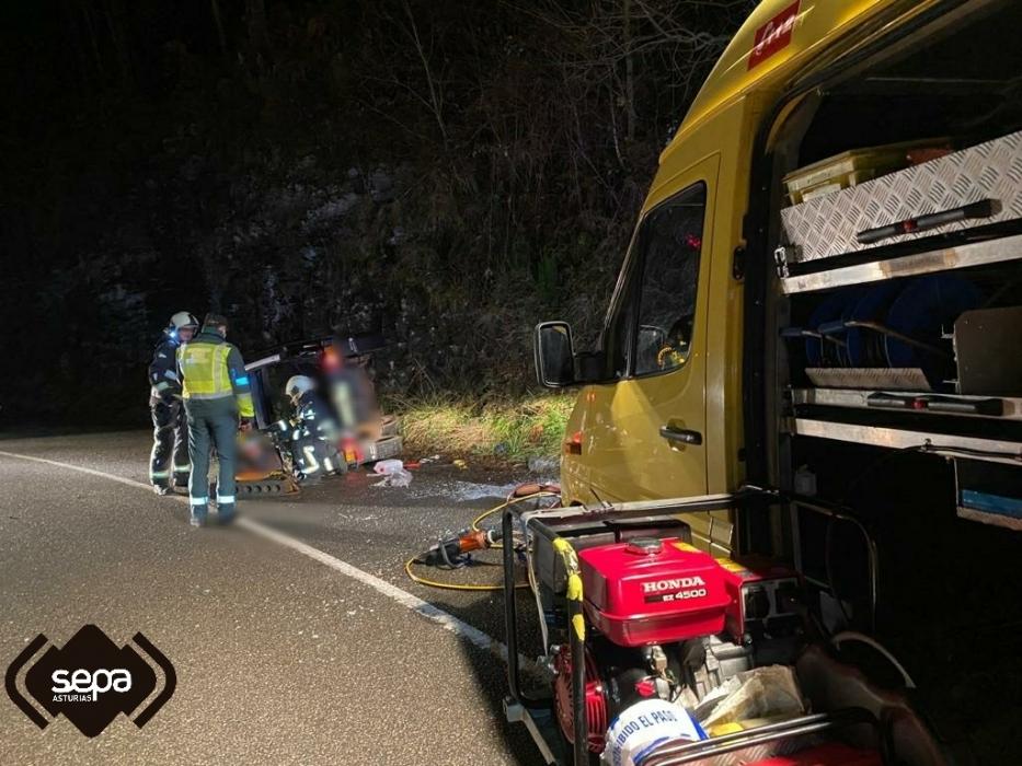 accidente trafico villaviciosa