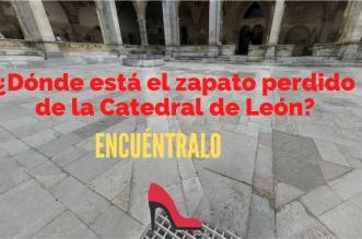 Catedral de León zapato perdido