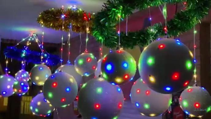 iluminacion navidad vecinosleon