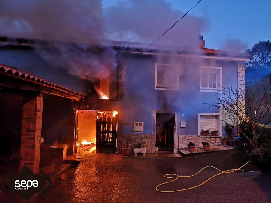 incendio urbano llanera