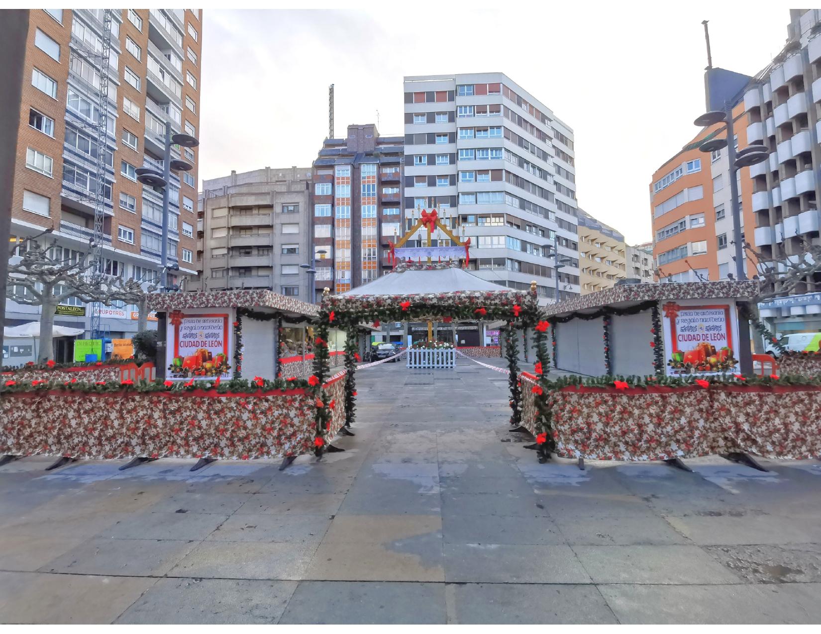 mercado navidad leon