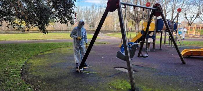 apertura parques de León
