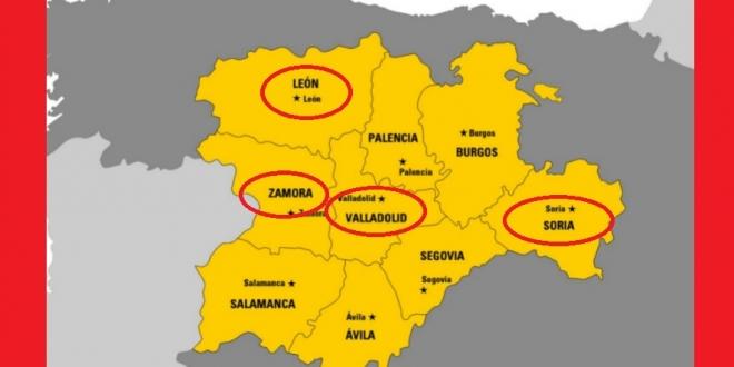 provincias-castilla-leon-bajar-alerta