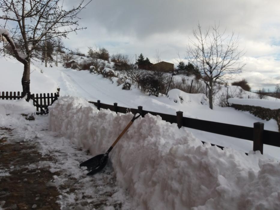 increible nevada valdetuejar metro nieve
