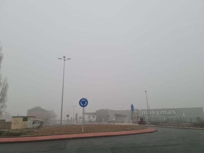 leon amanece niebla