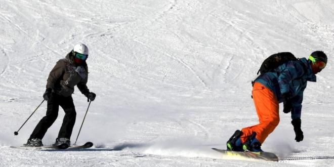 pillados saltándose el cierre perimetral para esquiar