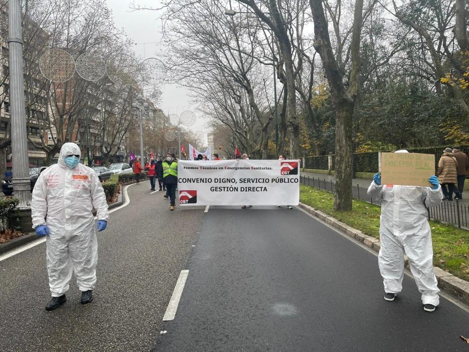 convenio sanitarios manifestación valladolid