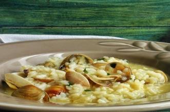 receta-arroz-caldoso-almejas