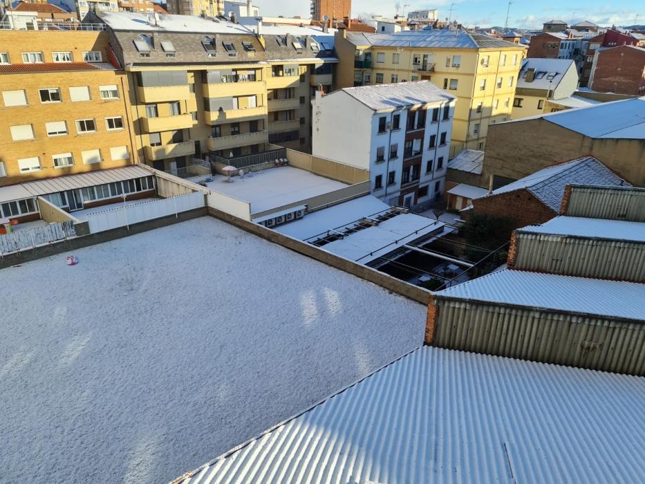 tormenta nieve la virgen