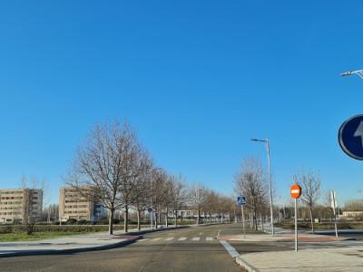 cielo azul Lastra León