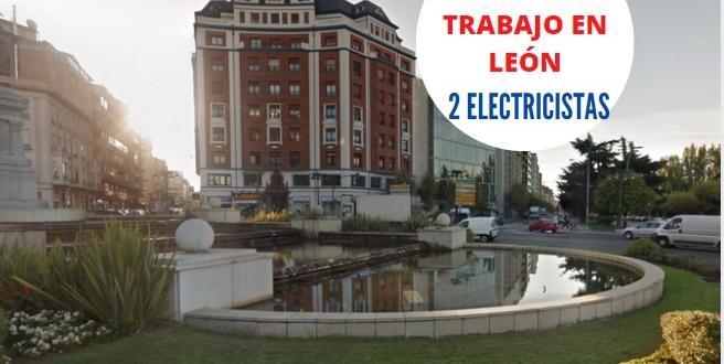 oferta-trabajo-león-electricistas
