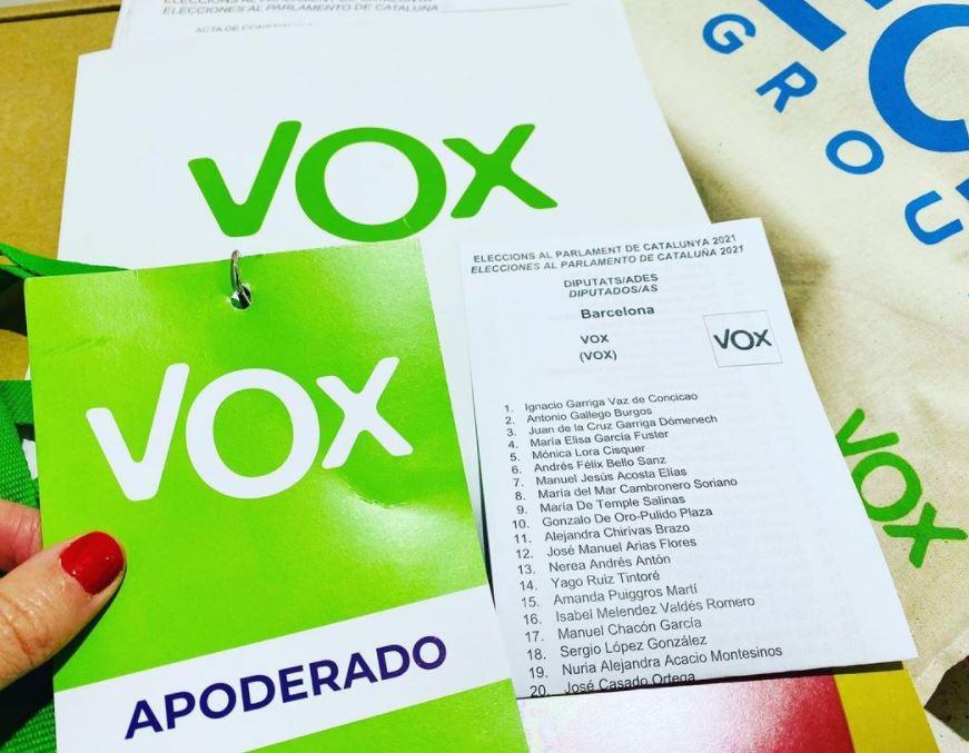 vox cataluña