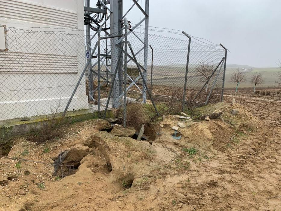 ataque conejos telecomunicaciones León