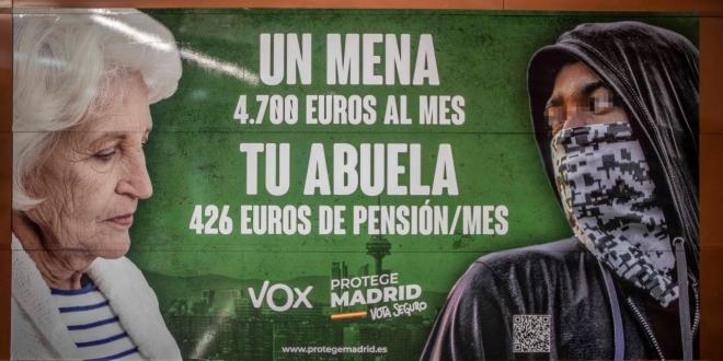 cartel vox fiscalia