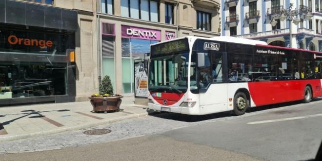 Quitan mascarillas ffp2 a los autobuses urbanos de León