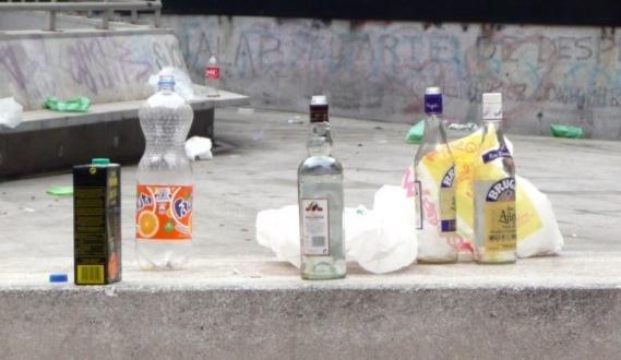 policia local leon jovenes botellon