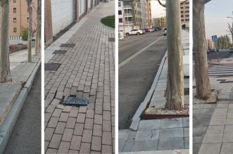 ciudadanos arreglar aceras lastra
