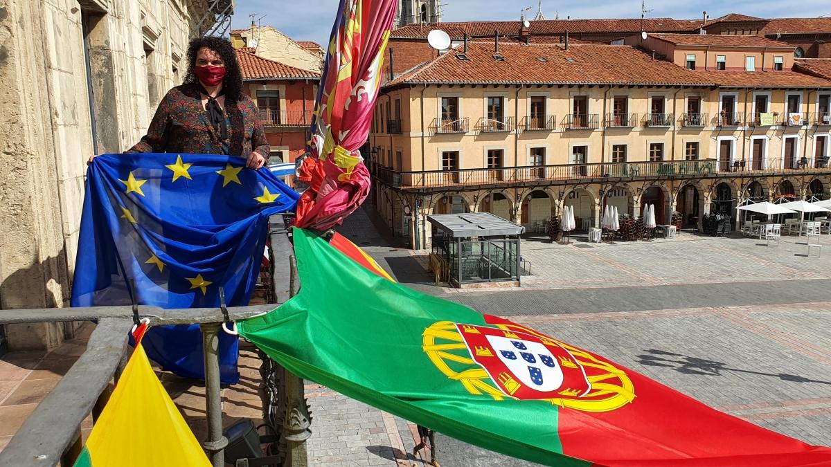 leon celebra dia europa