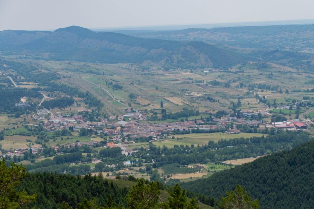 ruta leon pico cueto vistas bonar