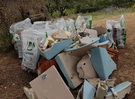 exito recogida basura lomas
