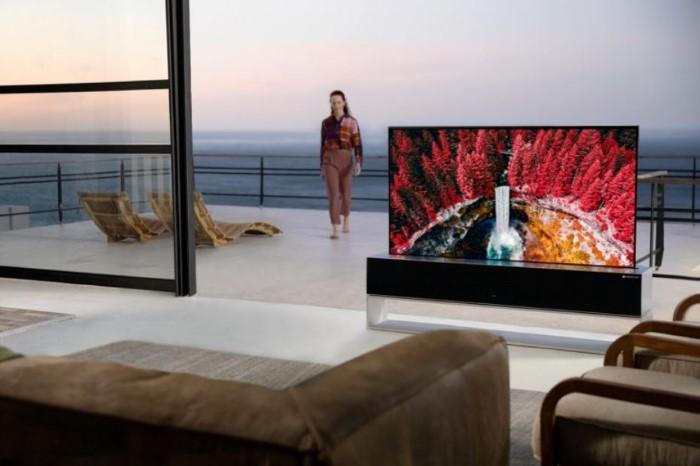 tv enrollable LG