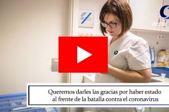 video emotivo agradecimiento-heroes enfermeros leon