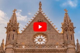video solsticio verano catedral leon
