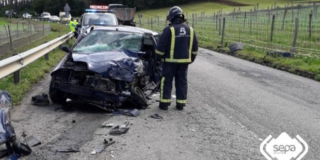 accidente trafico murias