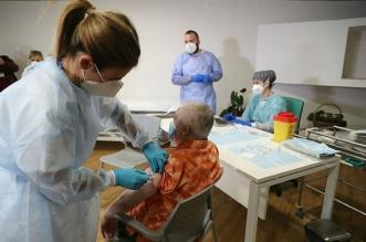 enfermeros leon motor vacunacion