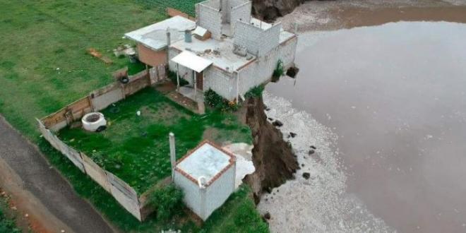 familias peligro socavon mexico