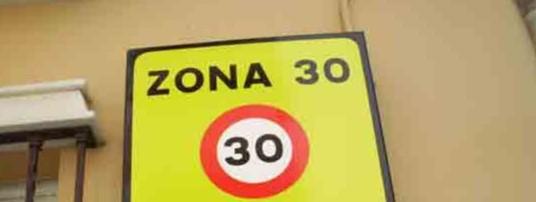 limites velocidad 30 dgt anula