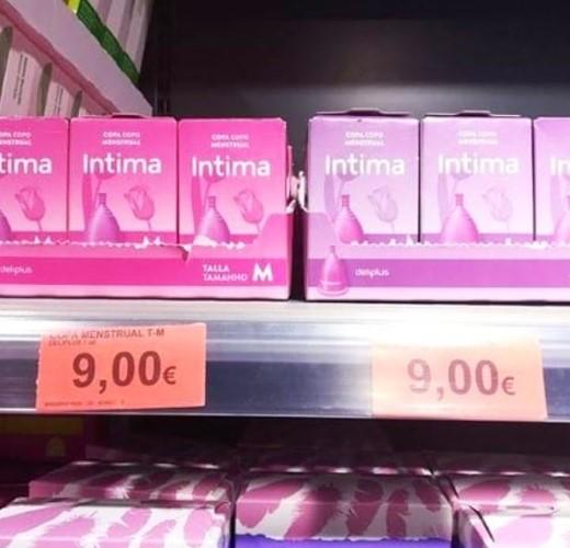 mercadona copa menstrual