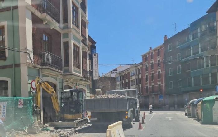 obras avenida ramon cajal