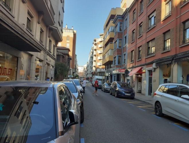prohibido aparcar centro leon (2)
