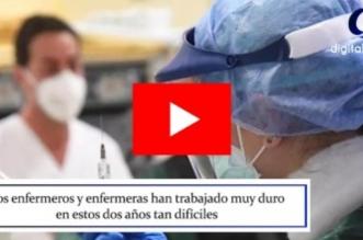 video emotivo agradecimiento heroes enfermeros leon