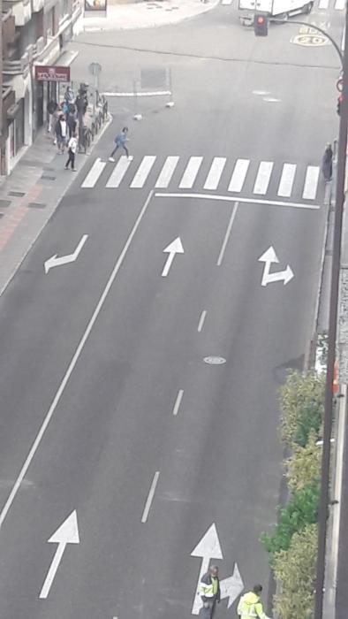 corte calle avenida padre isla