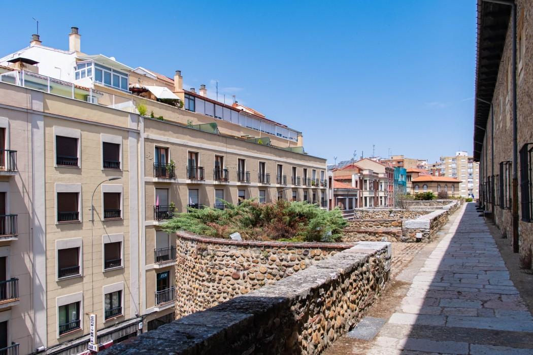 mirador muralla leon-Digital de León