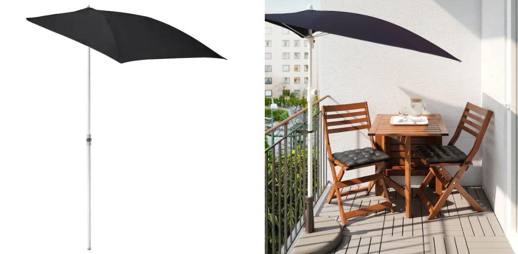 nueva sombrilla ikea terraza