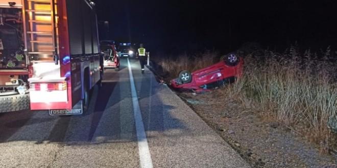 accidente coche pola gordon-Digital de León