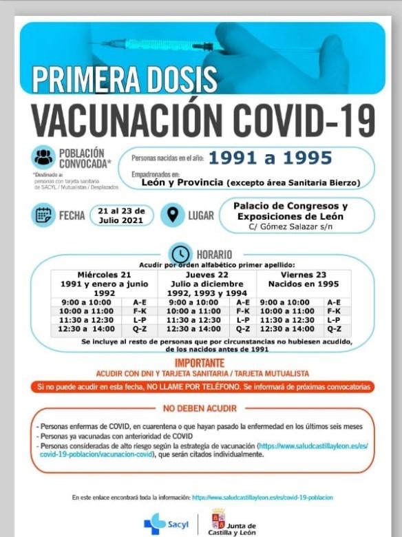 vacuna menores 30 leon-Digital de León