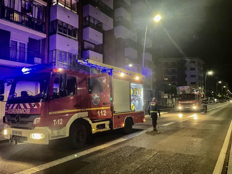 bomberos leon incendio ciudad-Digital de León