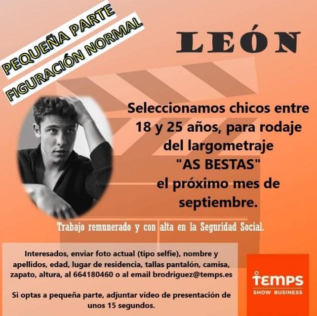 buscan actores leon pelicula-Digital de León